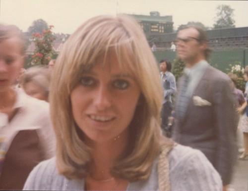 Susan George Wimbledon 75