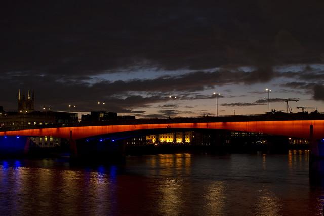 London Bridge at Dusk
