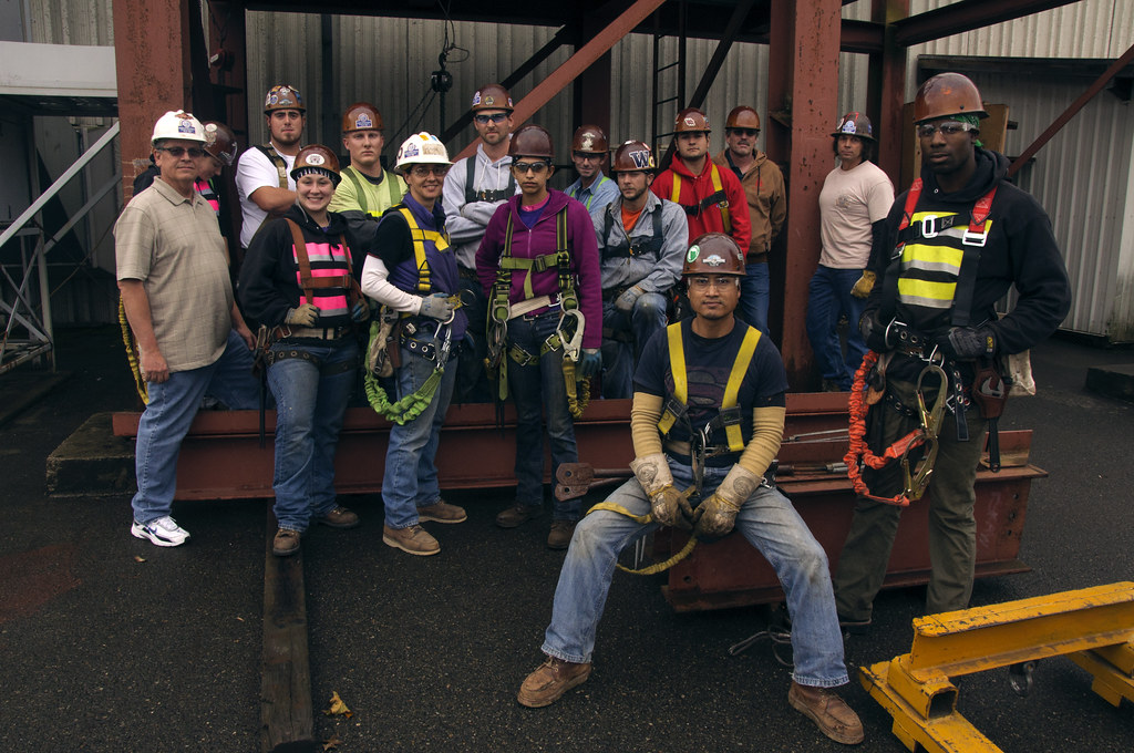 Class photo for Ironworkers Union Local #86 apprentices | Flickr