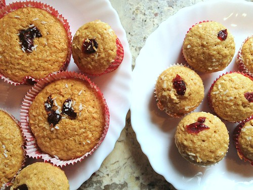 Muffin oatmeal cranberry coconut | by Le living and co.