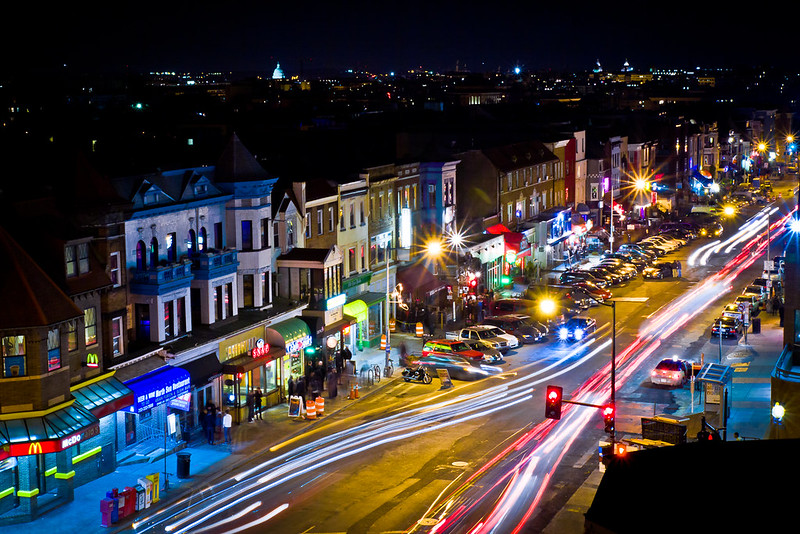 Adams Morgan at Night