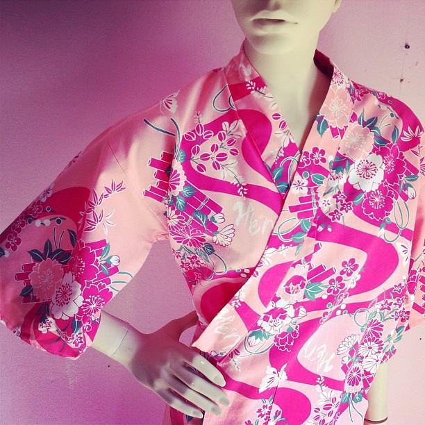 1970s cotton kimono