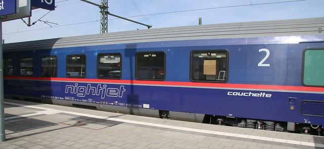 Nightjet Couchette car