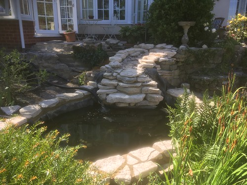 Winchester Pond / Waterfall renovation