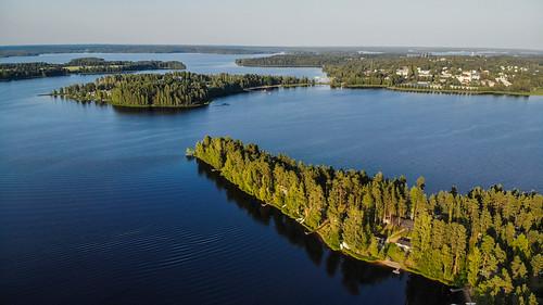 ikaalinen pirkanmaa finland fi suomi drone mavicair järvi lake