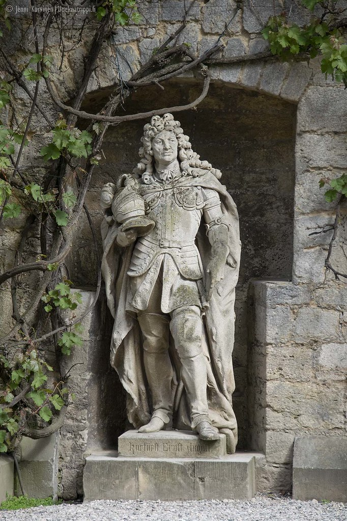Patsas Marienburgin linnassa