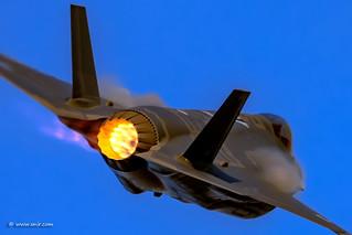 """Afterburner Thursday! © Nir Ben-Yosef (xnir) """"חיל האוויר""""   by xnir"""