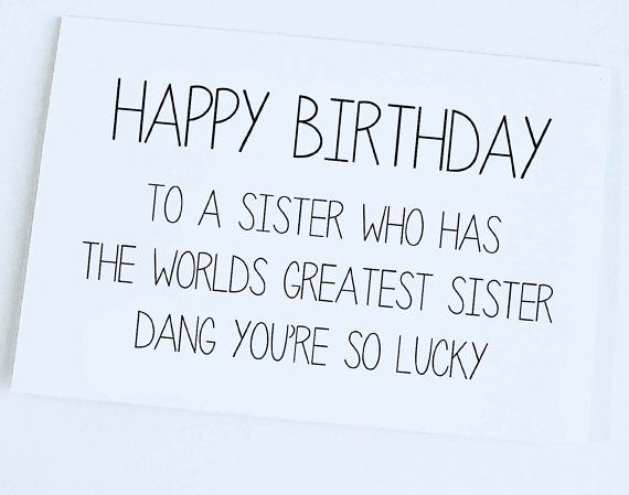 Stupendous Birthday Quotes Sister Birthday Card Sister To Sister Bi Flickr Personalised Birthday Cards Paralily Jamesorg