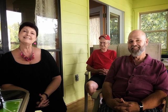 Donna, Jim & David | Weiss Lake | Centre, Alabama