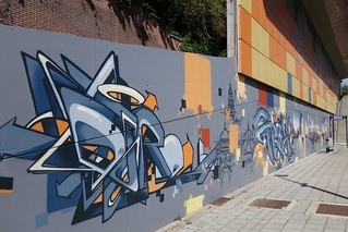 By Propaganza at Meiser Station (Brussels) | by @necDOT