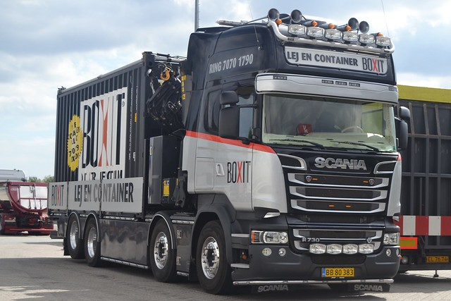 Scania R 730 V8 - Boxit - DK  BB 80 383