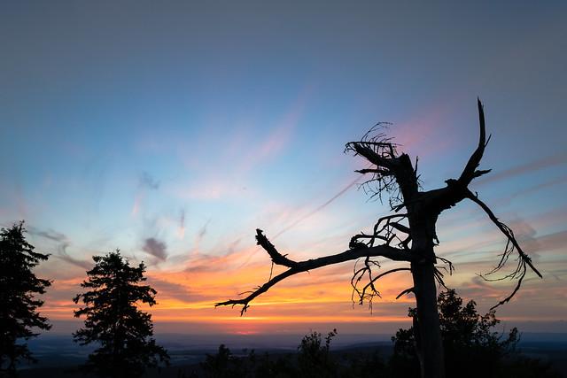 The sun is gone on Feldberg (Taunus)
