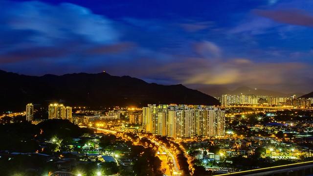 Night at Hung Shui Kiu, HK