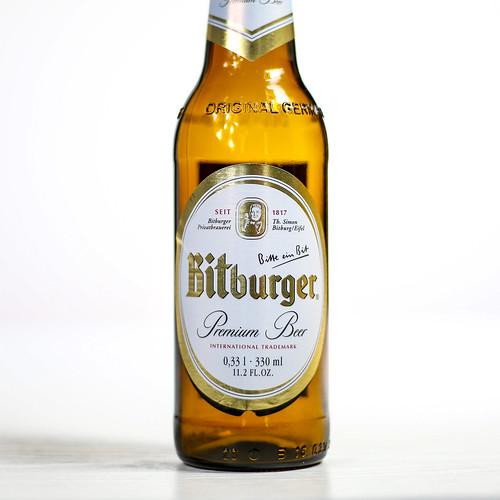 Pilsner Showdown Beers - Bitburger Braugruppe - Bitburger Premium Pils / Premium Beer | by fourbrewers