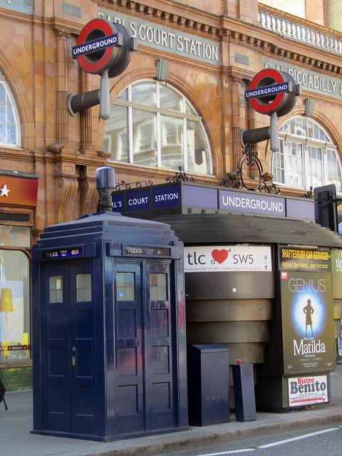 Earls Court Police Box, London 2016