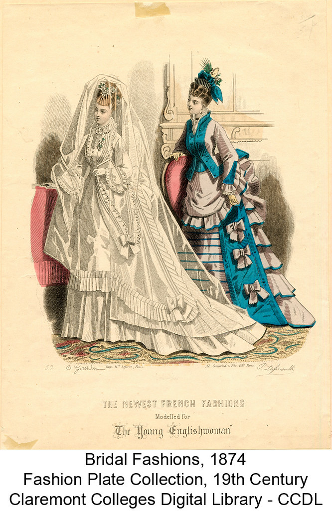 Bridal fashions, 1874 | Item Title: Bridal fashions, 1874 ...