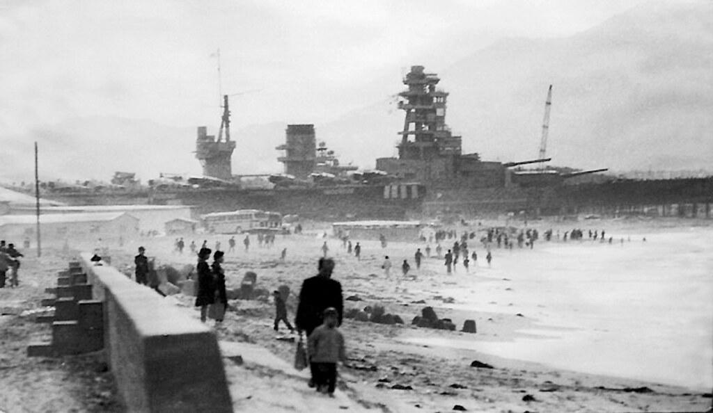 1969年 芦屋町海岸の風景