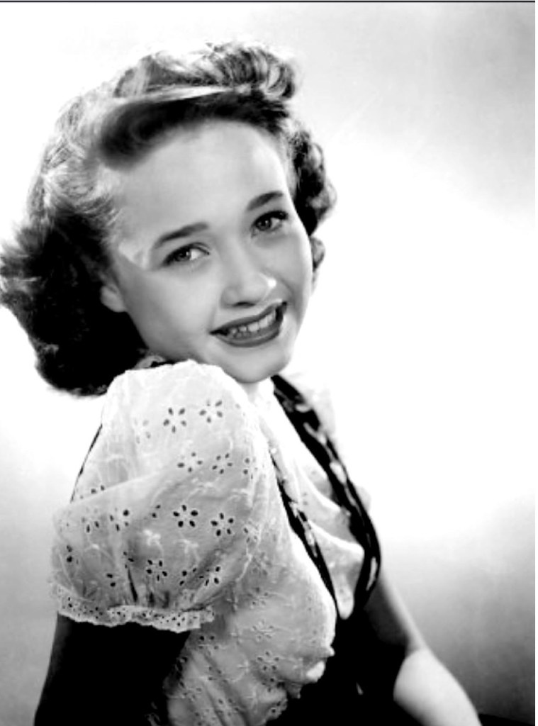 Young starlet Jane Powell, 1944 in ''Song of the Open Road… | Flickr