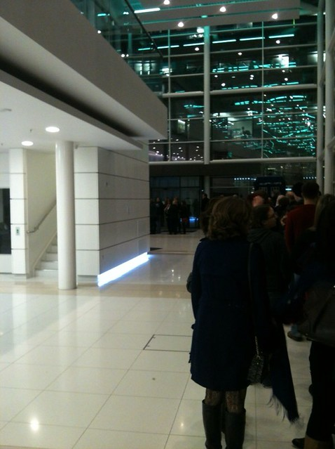 Queuing up for the Sarah Millican Show