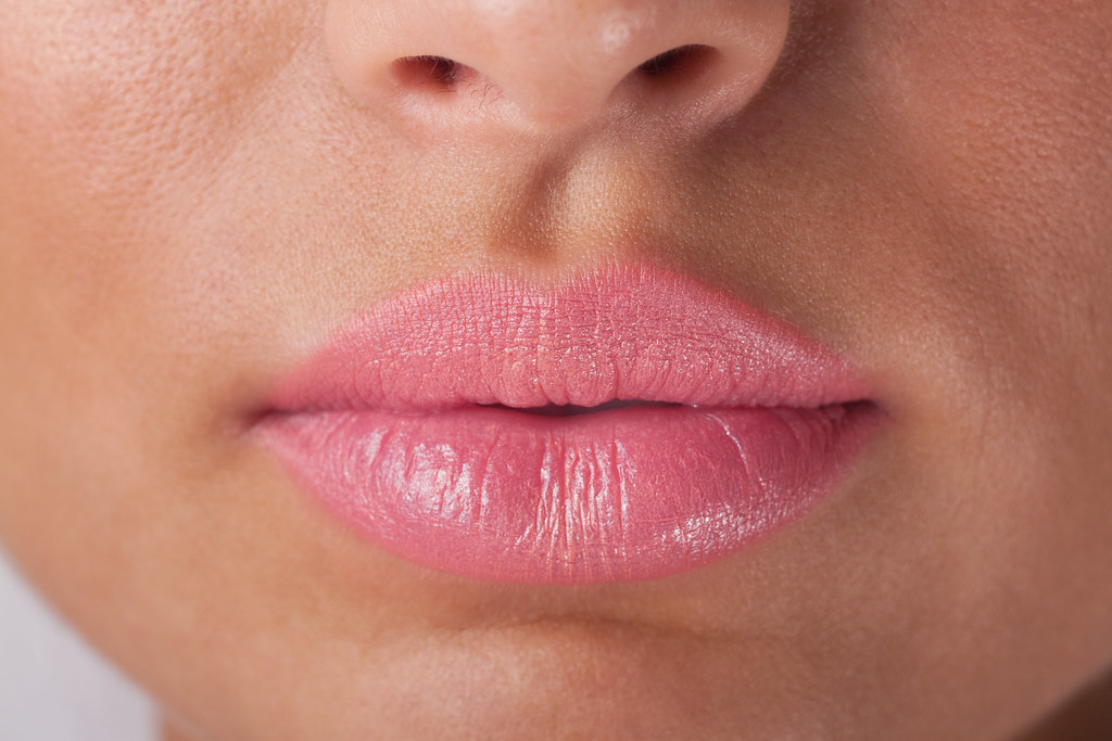 Pink lips | Sexy woman lips with pink make up  | Wagner