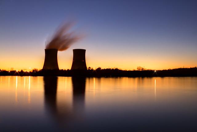 Watts Bar Nuclear Plant, Tennessee River, Rhea Co, TN