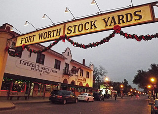 Christmas At The Stockyards Ft Worth Tx 1453 Betty