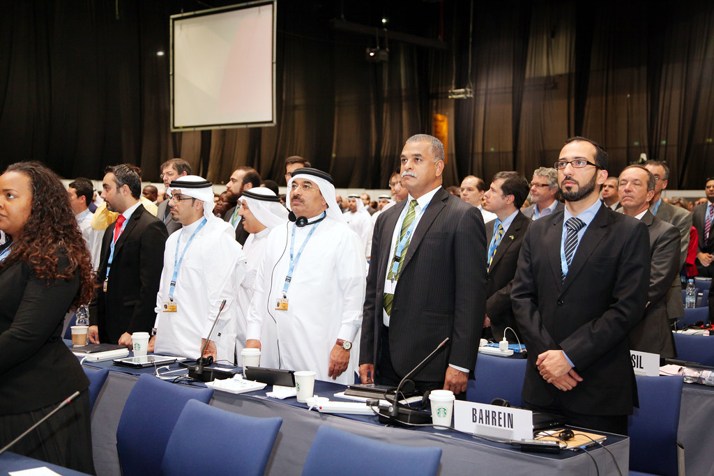 WCIT 2012 - Delegates standing for the the UAE national ...