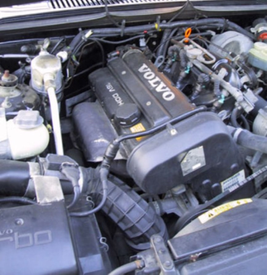Volvo 740 16 Valve Turbo Europe 2 0 Litre Engine Installe