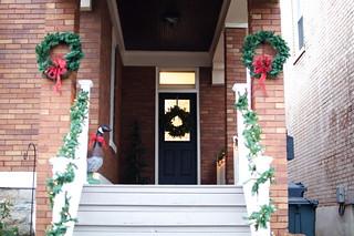 Holiday 2012 Porch Decor | by emily @ go haus go