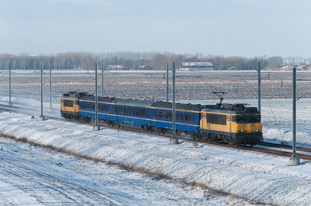 kon trein 3054 de trein reed niet echt maar er is