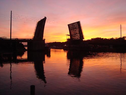 sunset reflection scenic drawbridge 2012 nctrip explored dsc08522