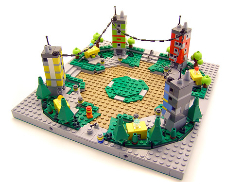 Lego Universe Nimbus Plaza 01