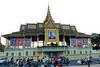 Phnom Penh, Královský palác, foto: Andrea Filičková