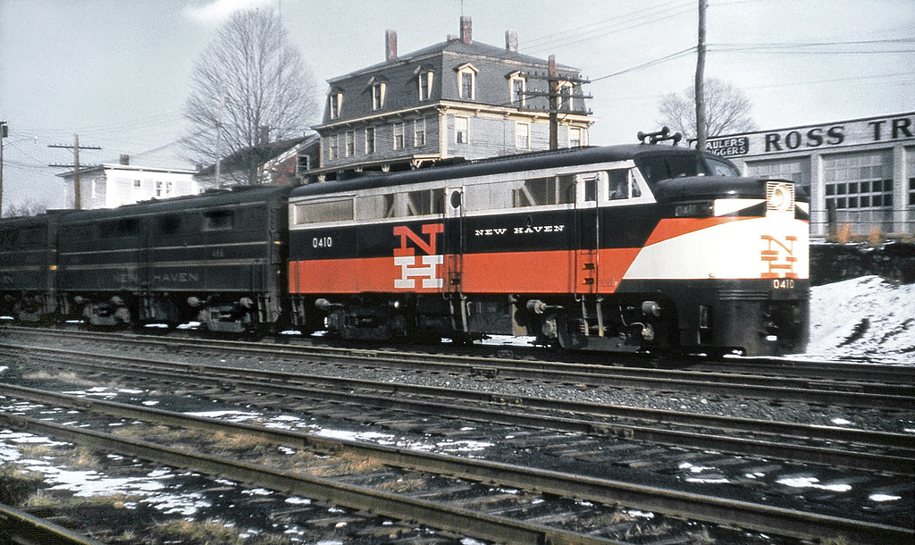 New Haven Railroad Der 2a Alco Fa 1 Locomotive 0410 Fol Flickr