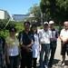 Nicolas à Dantou en compagnie de plusieurs de nos producteurs