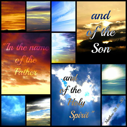 In the name of the Father Son Holy Spirit | by Art4TheGlryOfGod by Sharon