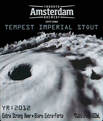 Tempest Imperial Stout - Amsterdam Toronto Brewery