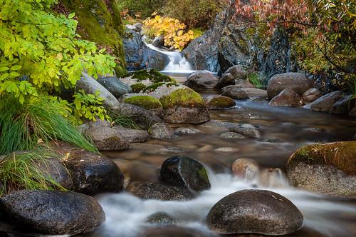 california ca autumn creek waterfall whiskeytown brandycreek
