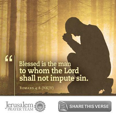 Romans 4:8 - Jerusalem Prayer Team Scripture | Blessed is th