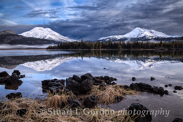 First Snow, Sparks Lake at Dawn_0031_32_33