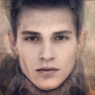 He does not exist. Composite photograph of 11 men; generated using AVERAGE FACE for iPhone. | by lessThan5pct