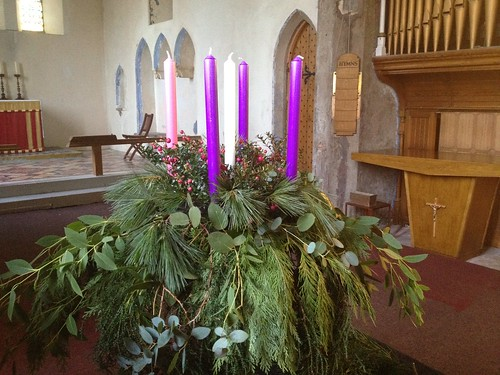 Advent wreath   by goforchris
