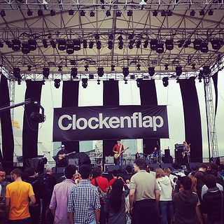 FilmSkouting at #Clockenflap great location! Lots of space.