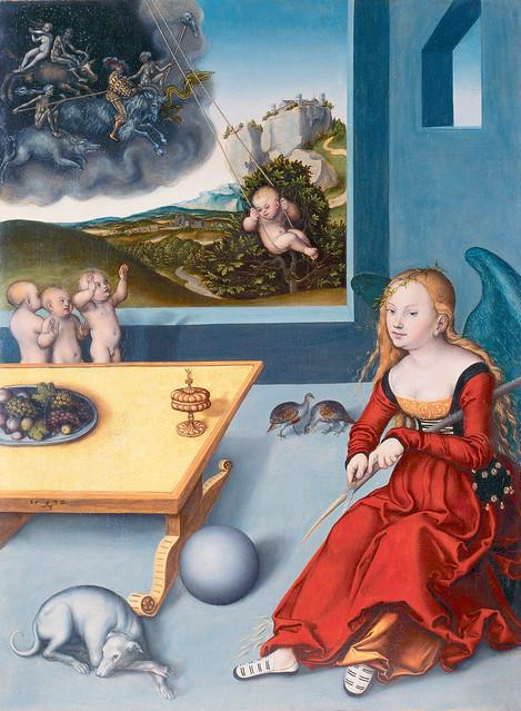 Cranach dÄ - The Melancholy [1532]