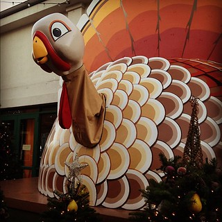 the clash of holiday turnover. (also that creepy thing is animatronic.) | by sarahwulfeck
