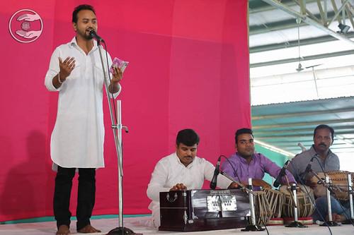 Devotional song by Ravi Gill from Sonepat, Haryana