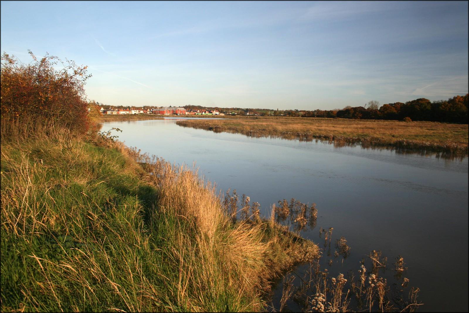 The Roaman River near Rowhedge