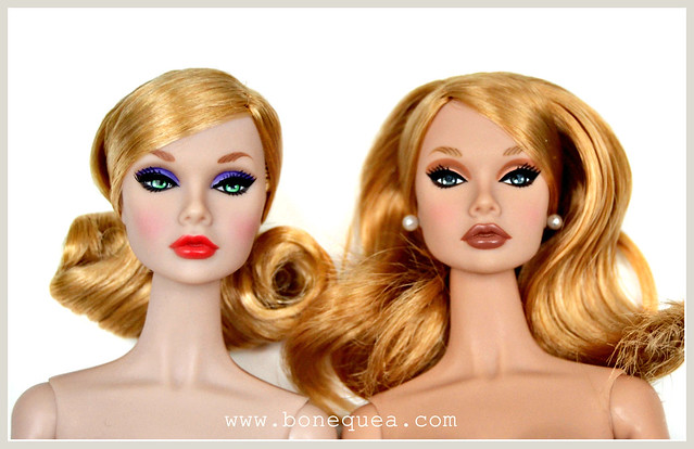 Poppy Parker comparison: Lilac Frost & Pillow Talk