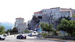 Вид на центр города Sartene