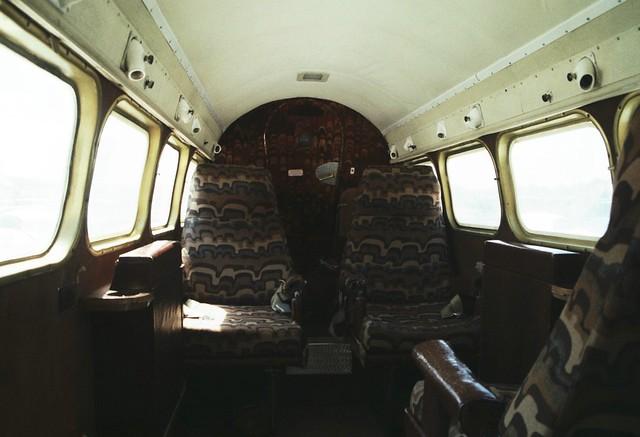 de Havilland Dove - G-AREA